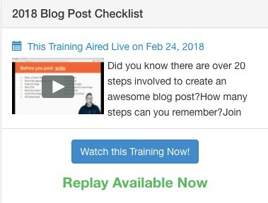 Affiliate Marketing Support Center | Live Video Classes