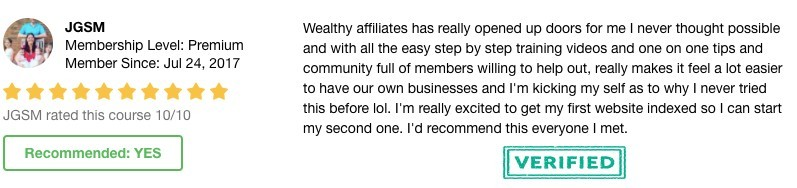 Members Opinions - James