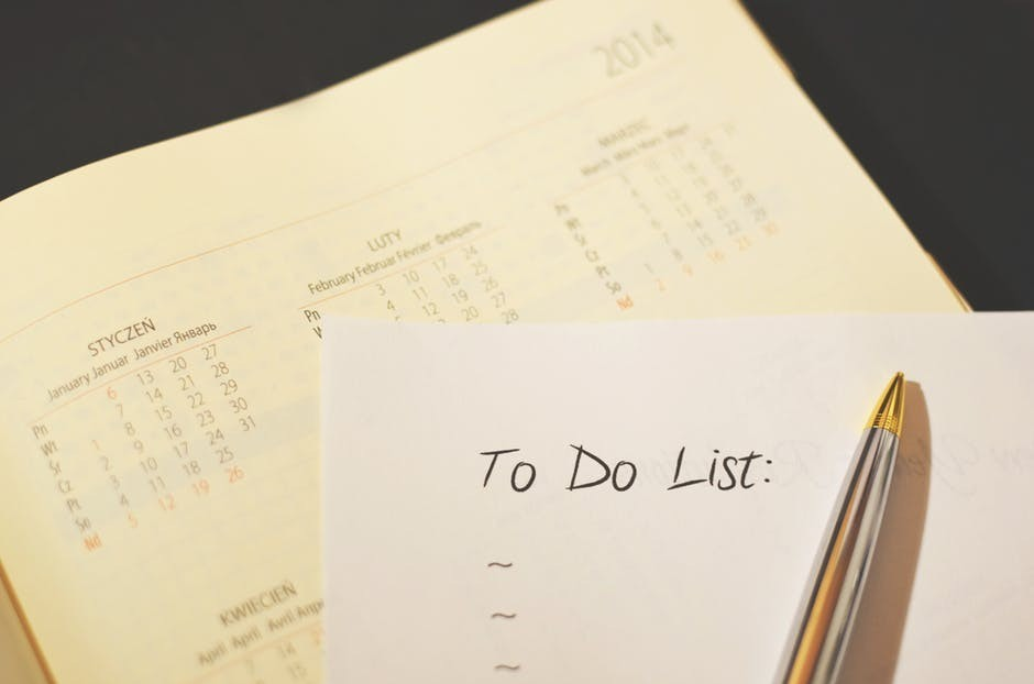 your success habit makes a to do list