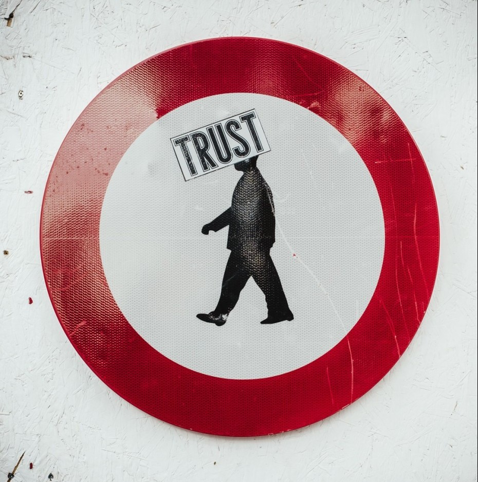trust as a part of your landing page