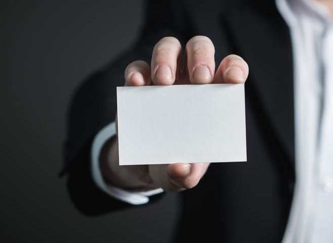 using business cards to brand your business