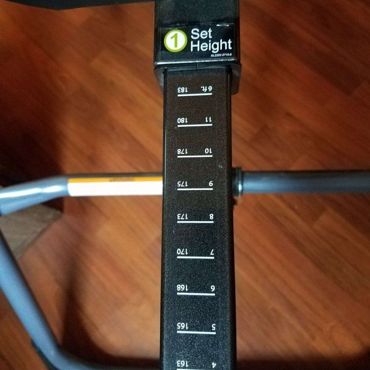 Best inversion table guide height selector
