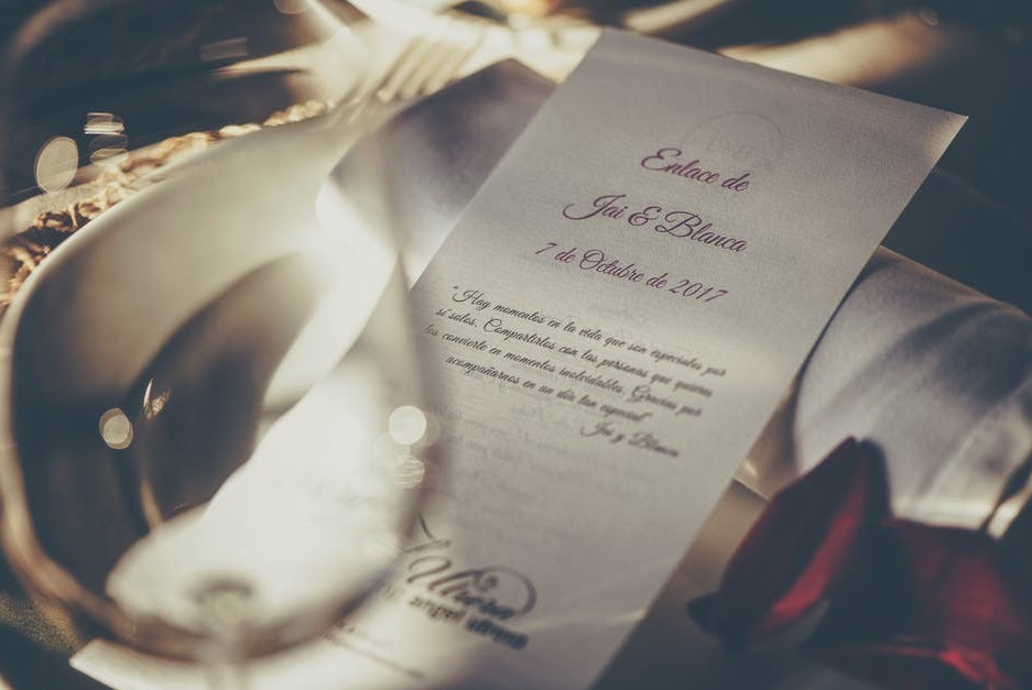 Selling Your Own Products - Wedding Invitaitions