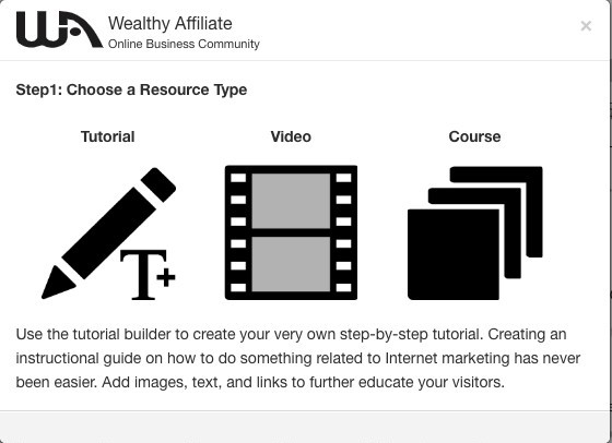 Wealthy Affiliate Training Platform