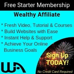 Free Starter Membership with Wealthy Affiliate!