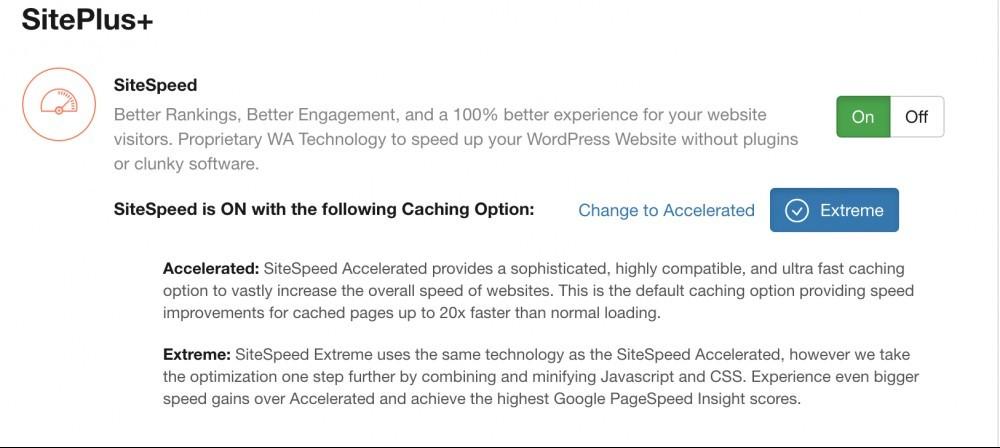 WA Site Speed