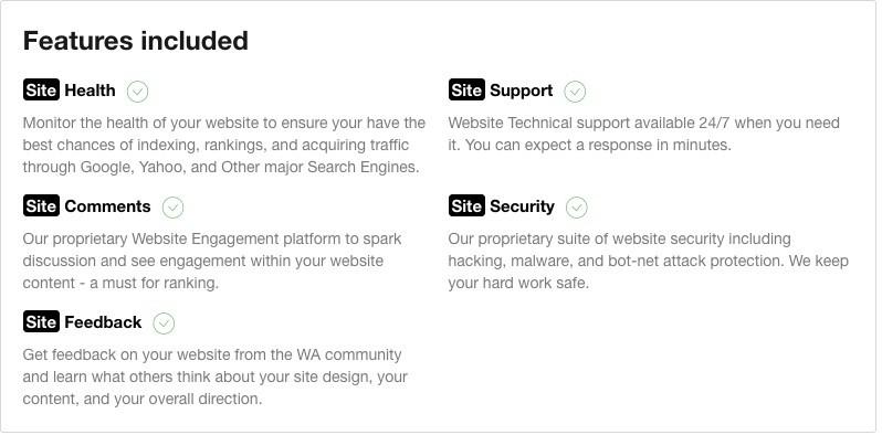 SiteRubix Features