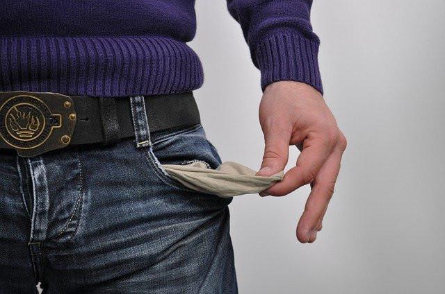 paid online surveys - empty pocket