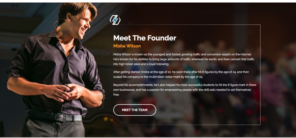 Misha Wilson - founder of Super Affiliate Network