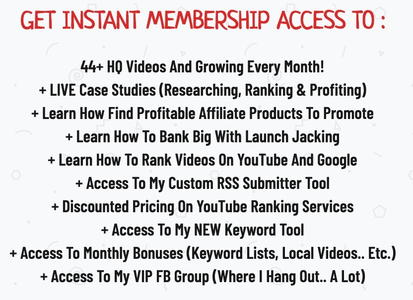 Additional Content for AffiliateTuber