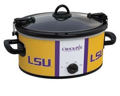 LSU slow cooker
