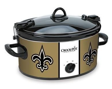 New Orleans Saints Slow Cooker