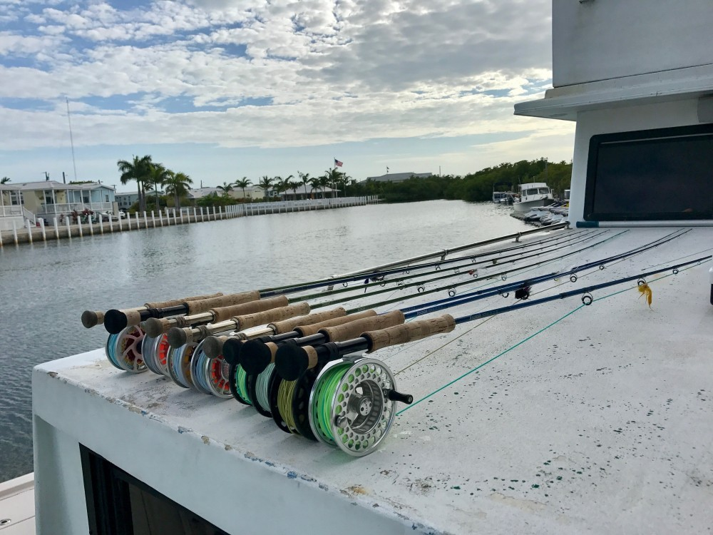 Salt water fly rods