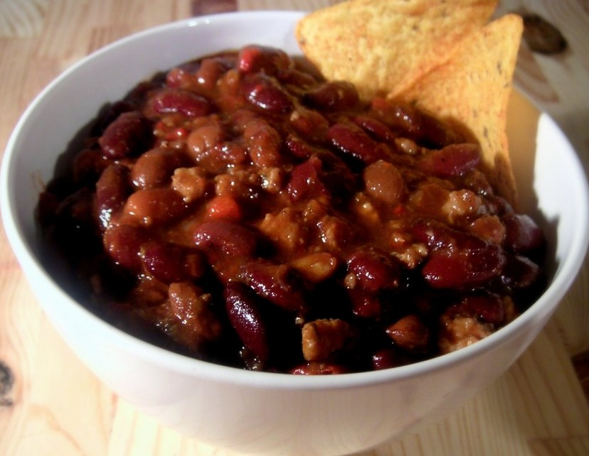 Beer and beef chili