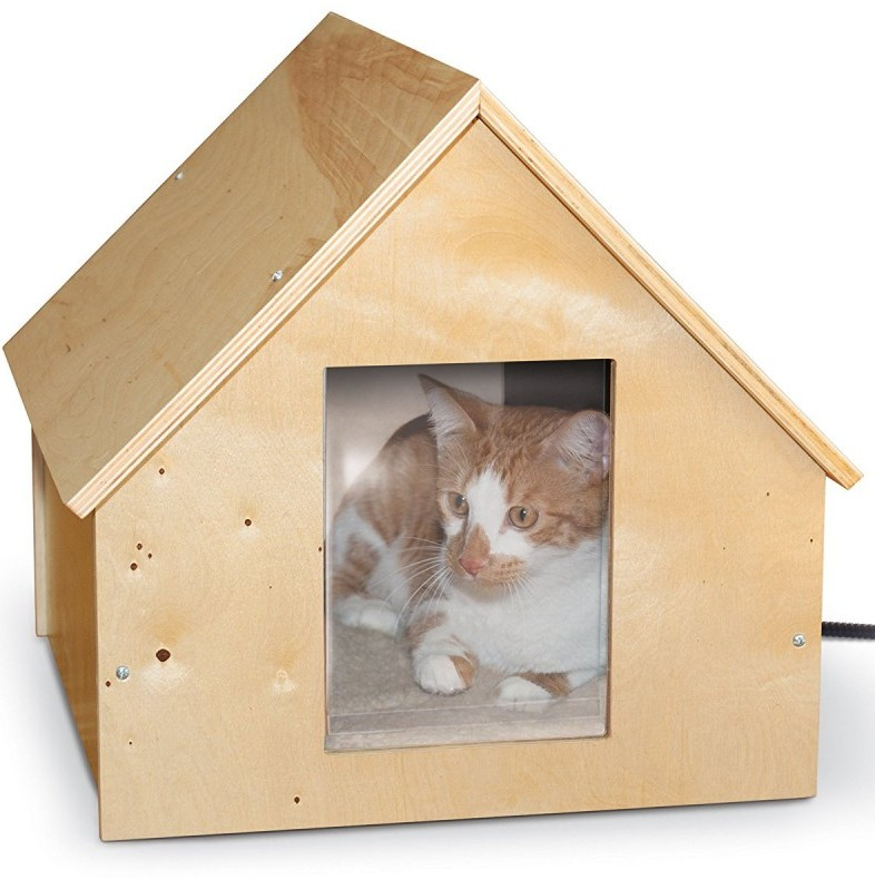K_H_Pet_Products_Birchwood_Heated_Outdoor_Cat_House