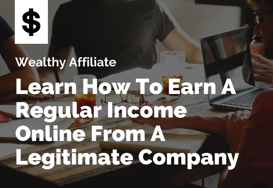 Learn how to make money from a legitimate company