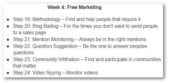 Week 4 - Free Marketing