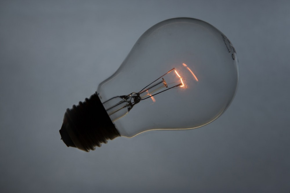 creating a lightbulb