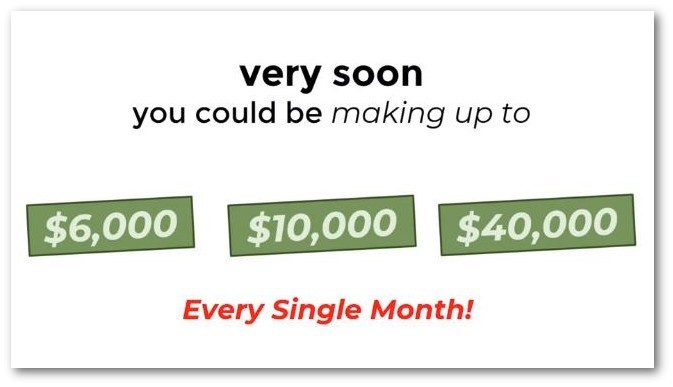making up to $40k a month
