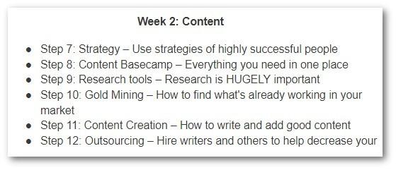 Week 2 - Content