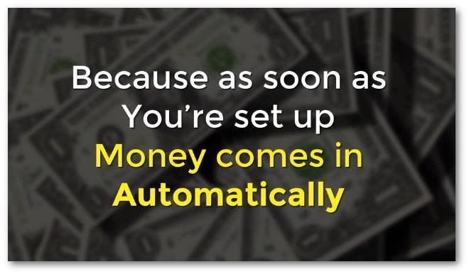 claims money comes in automatically