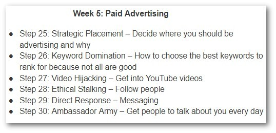 Week 5 - Paid Advertising