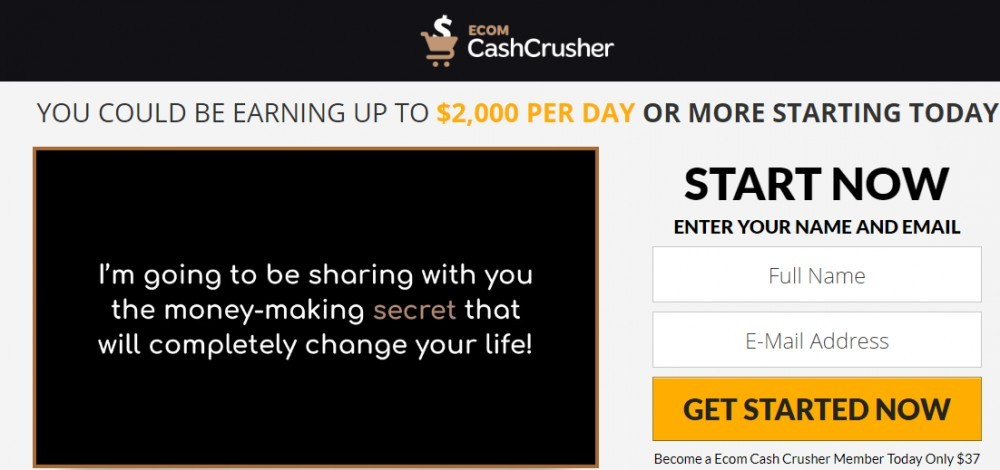My Ecom Cash Crusher Review