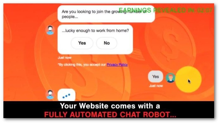 robot automatically talking