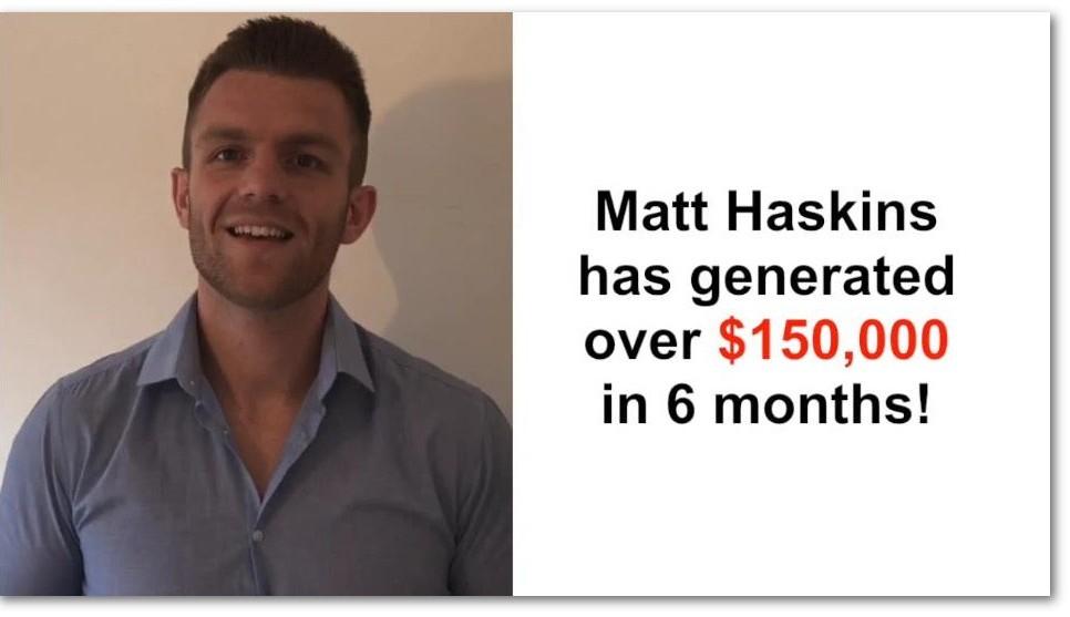 Fake member named Matt