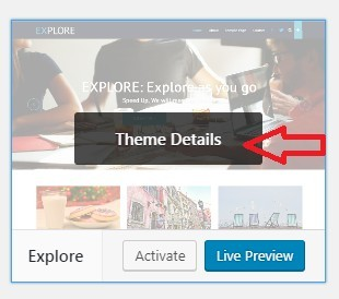 First Click Theme Details