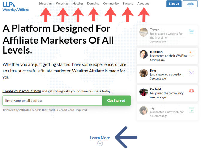 first impressions of wealthy affiliate