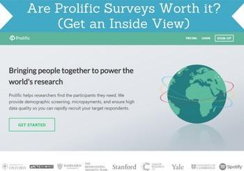 prolific surveys review