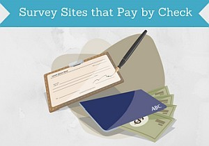 survey sites that pay by check