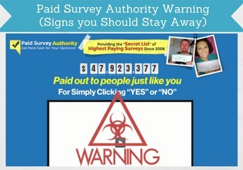 paid survey authority review