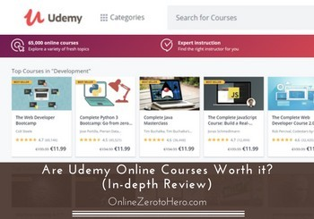 udemy online courses review