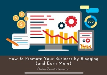 how to promote your business by blogging