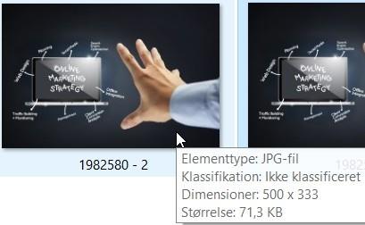 resized image file size