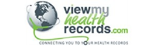 view my health records logo