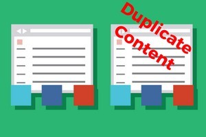 avoid duplicate content