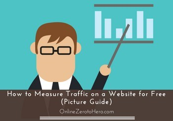 how to measure traffic on a website for free