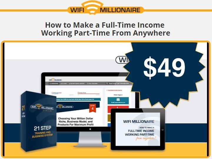 wifi millionaire system price