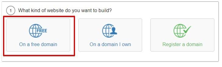 SiteRubix Free Domain