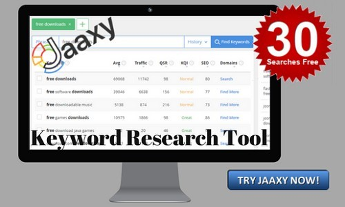 Jaaxy Keyword tool