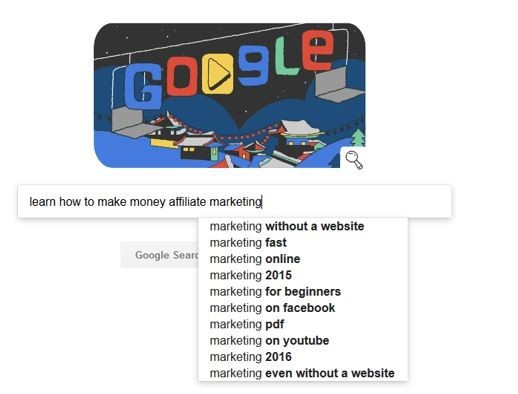 Google Search Is A Good Way To Find Actionable Keywords