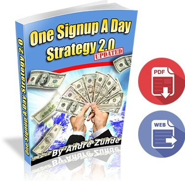 LeadsLeap One Signup A Day Strategy