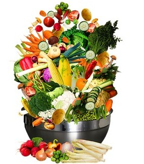 bowl full of fruits and vegetables