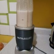 Nutribullet with oats and banana punch