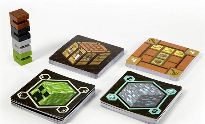 Mattel minecraft cardgame