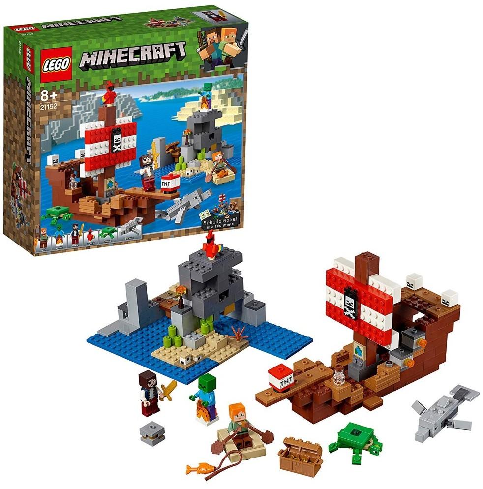 Minecraft Pirate Ship