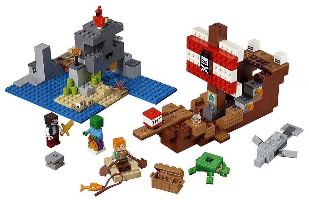 Minecraft Lego Pirate Ship - USA
